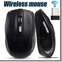 Wholesale 2 GHz USB Optical Wireless Mouse USB Receiver mouse Smart Sleep Energy Saving Mice for Computer Tablet PC Laptop Desktop With White Box