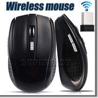 achat en gros de desktop pc-Récepteur USB souris optique sans fil 2,4 GHz souris USB intelligente veille d'économie d'énergie des souris pour ordinateur Tablet PC de bureau d'ordinateur portable avec la boîte blanche