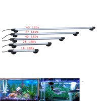 Wholesale 18 LED Aquarium Fish Tank Submersible Light Air Bubble Lamp Remote AU EU UK Plug