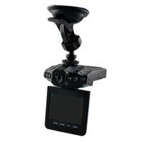 .hot Ventas rematan la venta de 2,5 '' levas tablero de coches coche DVR sistema de cámara grabadora de recuadro negro H198 versión de la noche del video de cámara de la rociada
