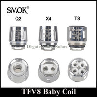 babies kit - Original SMOK TFV8 Baby Coil Head Replacment T8 X4 T6 Q2 Beast Coil Engine Core for H PRIV Mini w Kit