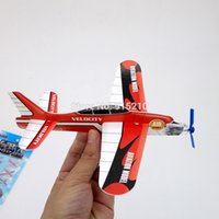 aeroplane aircraft - D stereo gliding foam aircraft Assorted Power Prop Flying Gliders Plane Aeroplane Kids DIY Puzzles Toys