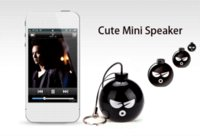 Wholesale 2016 Bomb Mini Subwoofer mm Portable Waterproof Speaker Shower Audio Receiver for iPhone Xiaomi Mobile Phone Drop Shipping