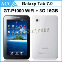 Wholesale Samsung Galaxy Tab GT P1000 P1000 inch GB Wi Fi G Android Phone Call Tablet PC