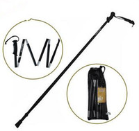 Wholesale TUV GS Certification Folding Nordic Walking Stick PC for hiking section Cane Outdoor Trekking Pole