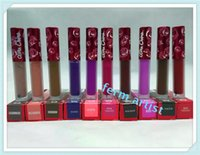 Wholesale 2016 lime crime Lip gloss limited version red kit LipGloss THE LIQUID MATTE LIPSTICK colors true love cupid saint box set DHL free