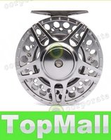 Wholesale LAI mm in BB METAL fly fishing reel PRECISION MACHINED fly reel from BAR STOCK ALUMINUM w INCOMING CLICK