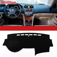 Wholesale High quality Interior Car Dashboard Cover Light Avoid Mat Fit For Honda Accord Car Accessories