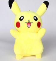Wholesale Pikachu licensed plush toys cm high Pikachu doll qiaqiu than
