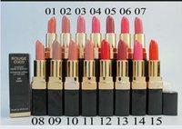 Wholesale 15pcs Hydrating Creme Different Colors Makeup Lipstick