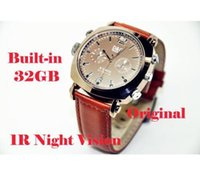 Wholesale Built in GB Waterproof HD P spy Hidden Watch Camera Automatic induction infrared night vision