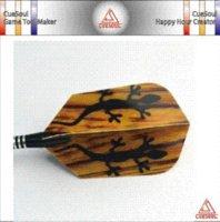 Wholesale Cuesoul DFP040 set Polyester Slim Dart Flights From Dart Game Accessories Supplies Darts Cheap Darts