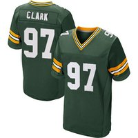 big kenny - 2016 Elite new football jerseys Kenny Clark Player Jersey Embroidery White Green jerseys Big order for DHL