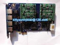 Wholesale AEX410 FXS PCIe Asterisk card Freepbx Elastix Trixbox