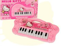 Wholesale Musical instruments toy for kids girl Cartoon electronic organ toy keyboard mini Electronic Baby Piano for kids