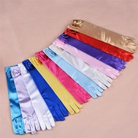 Wholesale New Girl Gloves Princess Gloves Ceremonial Gloves Children performing gloves students gloves Christmas kids gifts A0320