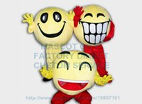big happy face - Any piece Anime Cosply Costumes Big Laugh Happy Smile Face Mascot Costume Carnival Birthday Party Mascotte Fancy Dress Kits