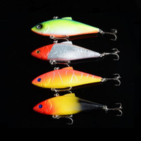 Wholesale Drop shipping Color cm g Vibration Lure Bait VIBRATION fishing gear bionic bait lures Lure D Eye Fishing Lure High