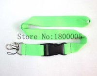 Wholesale Fashion Keys Green Lanyard MP3 Keychain Camera Cordon ID Badge Cell Phone Neck Strap