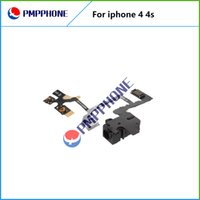 For Apple iPhone audio switch - Good Qulity For iPhone S Headphone Audio Jack Power Volume Switch Flex Cable Replacement Fast shipping