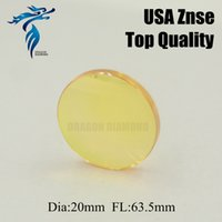Wholesale Factory Price High Quality USA ZnSe Laser Lens Mirror mm Diameter mm Focus Length For CO2 Laser Cutter