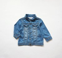bebe denim - 1 Y manteau bebe baby poncho jacket kids coats soft cotton thin denim coat for girls thin coats and jackets infantil menina jaqueta