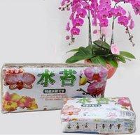 Wholesale 12L Garden Supplies Sphagnum moss bryophytes phalaenopsis orchid medium moisturizing nutrition soil Organic Fertilizer