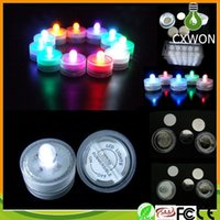 battery powered lights - Hot Selling LED Submersible Waterproof Tea Lights battery power Decoration Candle Wedding Party Christmas High Quality decoration light