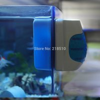 acrylic scrubber - Aquarium Fish Tank Magnetic Floating Glass Cleaner Algae Scraper Brush Clean Scrubber Aquariums Accessories order lt no track