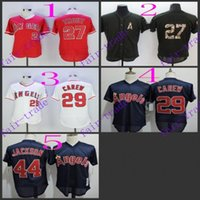 authentic angels jersey - los angeles angels mike trout rod carew Baseball Jersey Cheap Rugby Jerseys Authentic Stitched Size