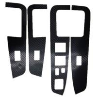 auto body parts - For Mitsubishi Outlander car interior sticker car styling carbon fiber auto part per set