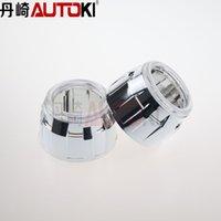 Wholesale inches hid projector lens shroud Led angel headlight mini cover high temp resistant car headlight Shroud