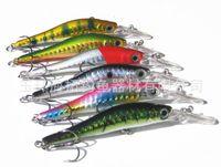 Wholesale 9cm g Lifelike Fish Lure fishing lures Bionic Bait Fishing Lures Fishing Tackle Fishing Baits Minnow Hooks Hard Bait Saltwater FreshWater