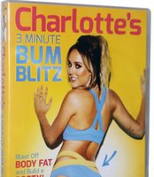 Wholesale HOT Charlotte Crosby s Minute Bum Blitz DVD Branded New