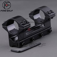 Wholesale High Quality Hunting mm Double Tube Scope Mount with Dovetail mm Rail for Riflescope