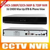 Wholesale Video Surveillance Ch NVR P Or Ch P Or Ch MP Or Ch MP Security CCTV NVR Support Onvif IP Camera Max TB P2P View