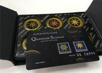 Precio de Envío libre del iphone de la manzana-Etiqueta engomada anti de la energía de la ciencia de la radiación del blindaje de Quantum para el teléfono celular 60 PC / porción, envío libre del poste