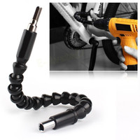 Wholesale Car Tire Repair Tools Black mm Flexible Shaft Bits Extention Screwdriver Bit Holder Connect Link For Electronics Drill