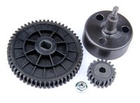 baja r c - R C racing car parts NEW Clutch Bell and T T High Speed Metal Gear Set for th RC Gas Model Car for baja