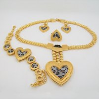 african pendants - african jewelry sets k gold plated high quality wedding necklace jewelry set for women bridal wedding