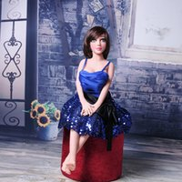 small sex doll - New Design CM Real Lifelike Full Silicone small Sex Dolls For Men With Metal Skeleton china factory