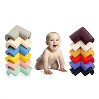 Wholesale 8Pcs Soft Baby Safe Corner Cover Protector Baby Kids Table Bed Corner Guard Angle Children Safety Edge Guards