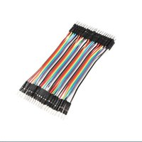 Wholesale 40pcs CM Dupont Line Male To Male Dupont Cable for Arduino Breadboard Jumper Wires Ribbon Cable Male Male Dupont Line