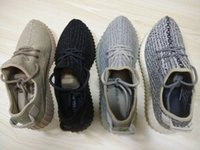 Cheap New Fashion Kanye West Yeezy Boost 350 Pirate Black Running Shoes Yeezy 350 boost Classic Grey final Version Supply With Box