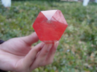 Wholesale new MM Pretty Red Smelt Quartz Crystal Single Terminated Wand Healing