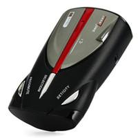Wholesale 9980 Degrees detection band Scanning Voice Alert LED Radar Detector Laser Car Speed Testing System