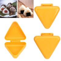 Wholesale Factory Price New Plastic Sushi Mold Onigiri Rice Ball Bento Press Maker Japan Kitchen Tool New
