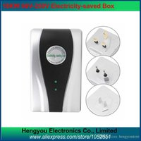 air conditioning electricity - 6PCS KW Energy Saving Power Saver Single Phase Electricity Energy Saving Box For Home Air Conditioning