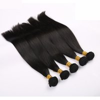 Hot Sale Brazilian Virgin Hair Weave Silky Straight Cheap Hair Hair Extensions Remy Hair Weft 100% Unprocessed Hair 3Pcs Lot peut teindre Bleach
