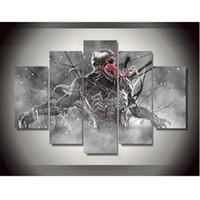 art printings - Canvas Printings Venom Marvel Comics Painting Wall Art Home Decoration Poster Canvas Unframed